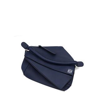 LOEWE Puzzle Bag 海军蓝 front