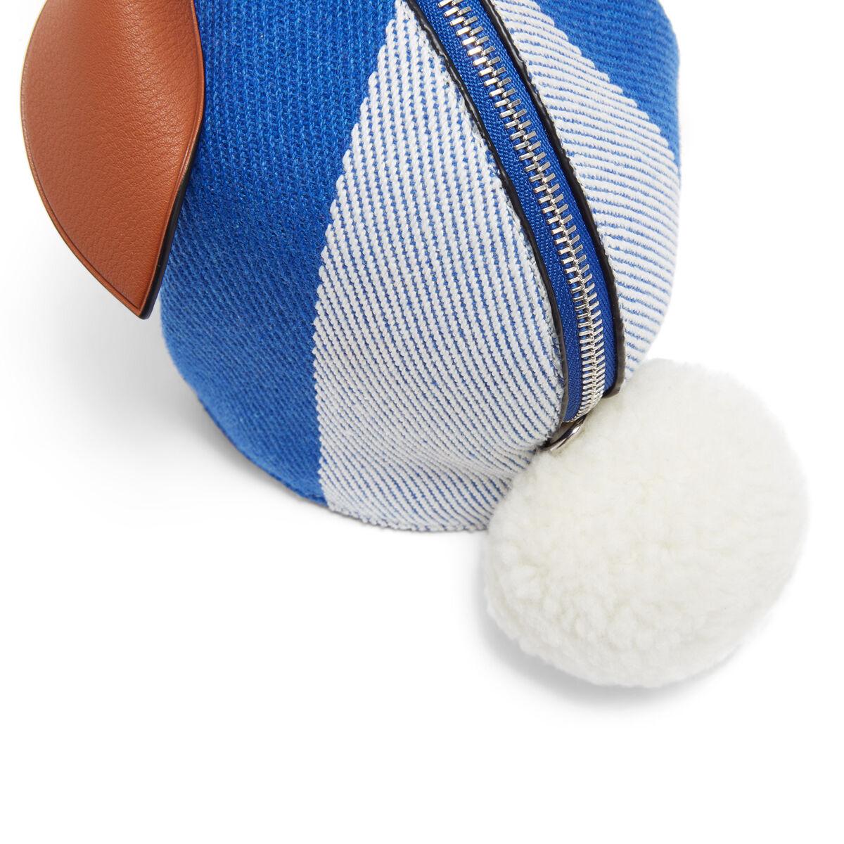 LOEWE Bunny Stripes Mini Bag Pacific Blue/Multicolor all