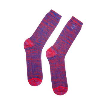 LOEWE Loewe Eye Socks Rojo/Azul front