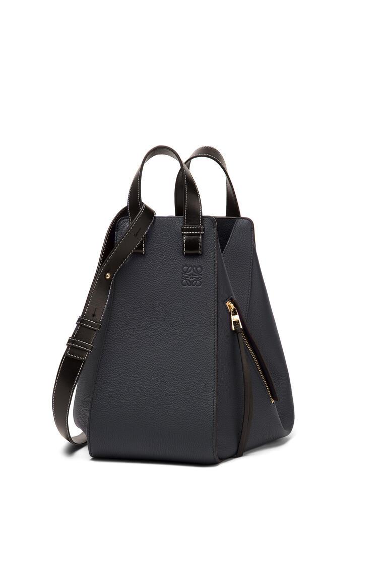 LOEWE Hammock Medium Bag Midnight Blue/Black pdp_rd