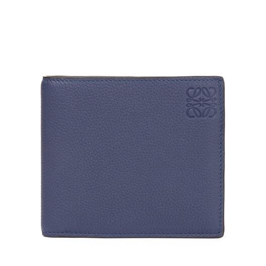 LOEWE Bifold Wallet Marine/Brick Red front