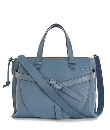 LOEWE Gate Top Handle Steel Blue front