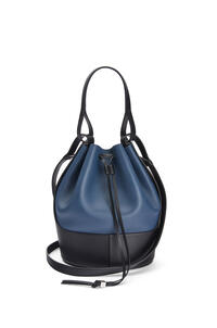 LOEWE Balloon bag in nappa calfskin Indigo Dye/Black pdp_rd
