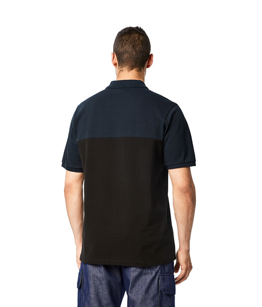 LOEWE Eln Polo Navy Blue/Black front