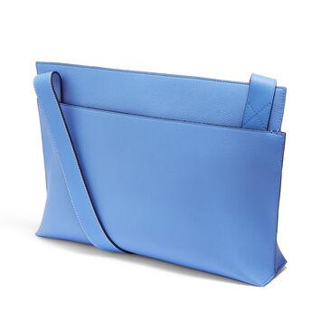 LOEWE Tメッセンジャーバッグ パシフィックブルー/シーサイドブルー front