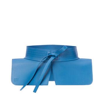 LOEWE Obi Belt Blue front