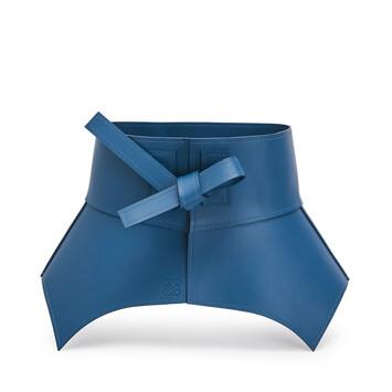 LOEWE Obi Belt Varsity Blue front