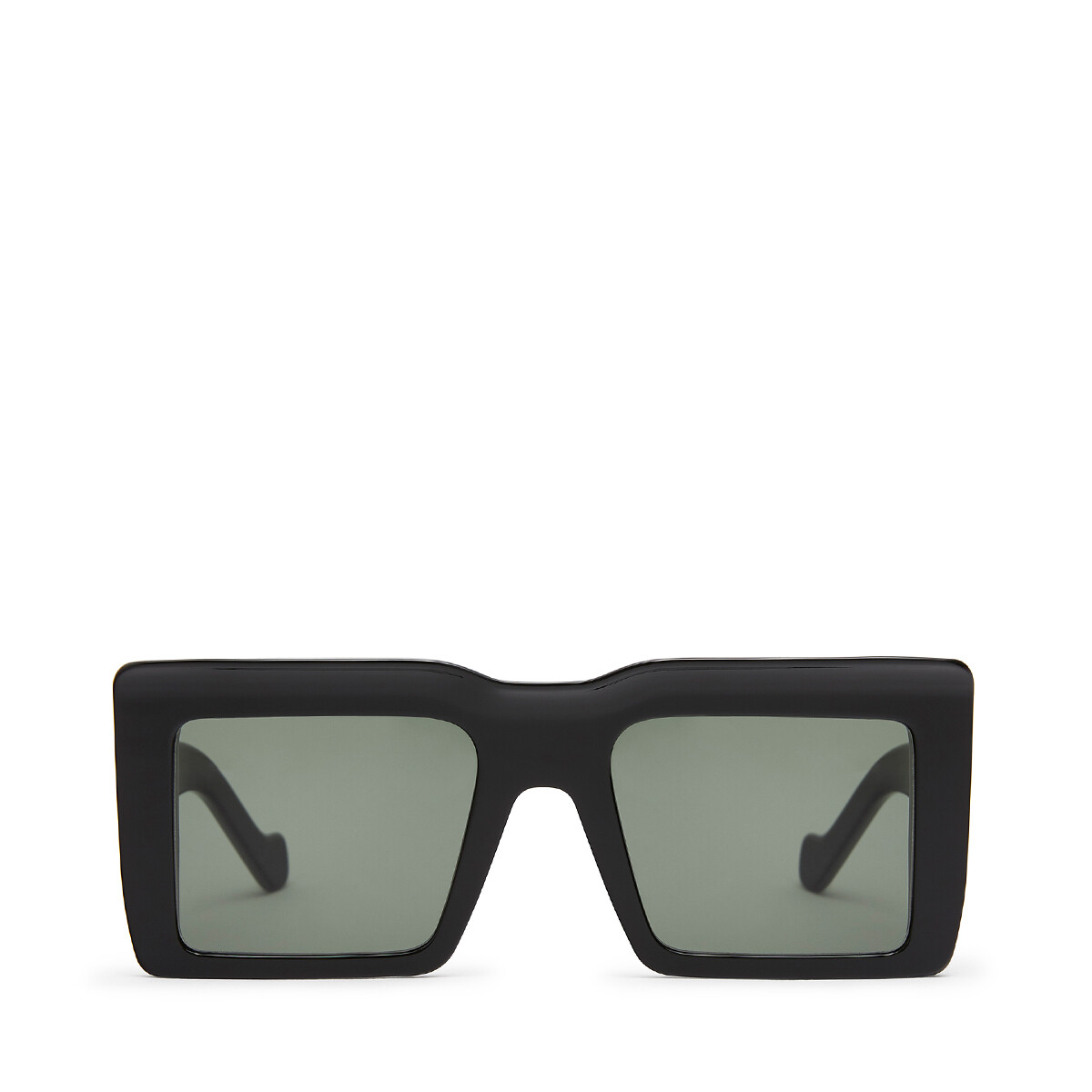 LOEWE Oversize Square Sunglasses Black front