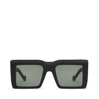 LOEWE Oversize Square Sunglasses ブラック front