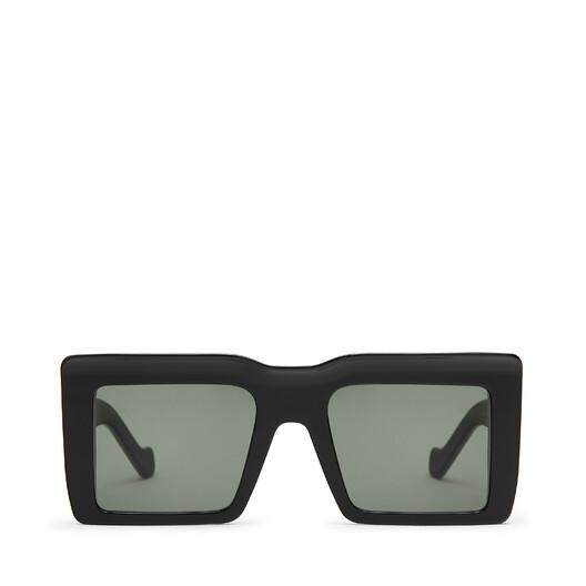 LOEWE Gafas Cuadradas Oversize Negro front