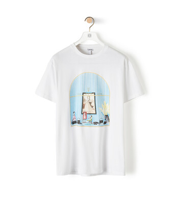 LOEWE Loewe Window T-Shirt White front