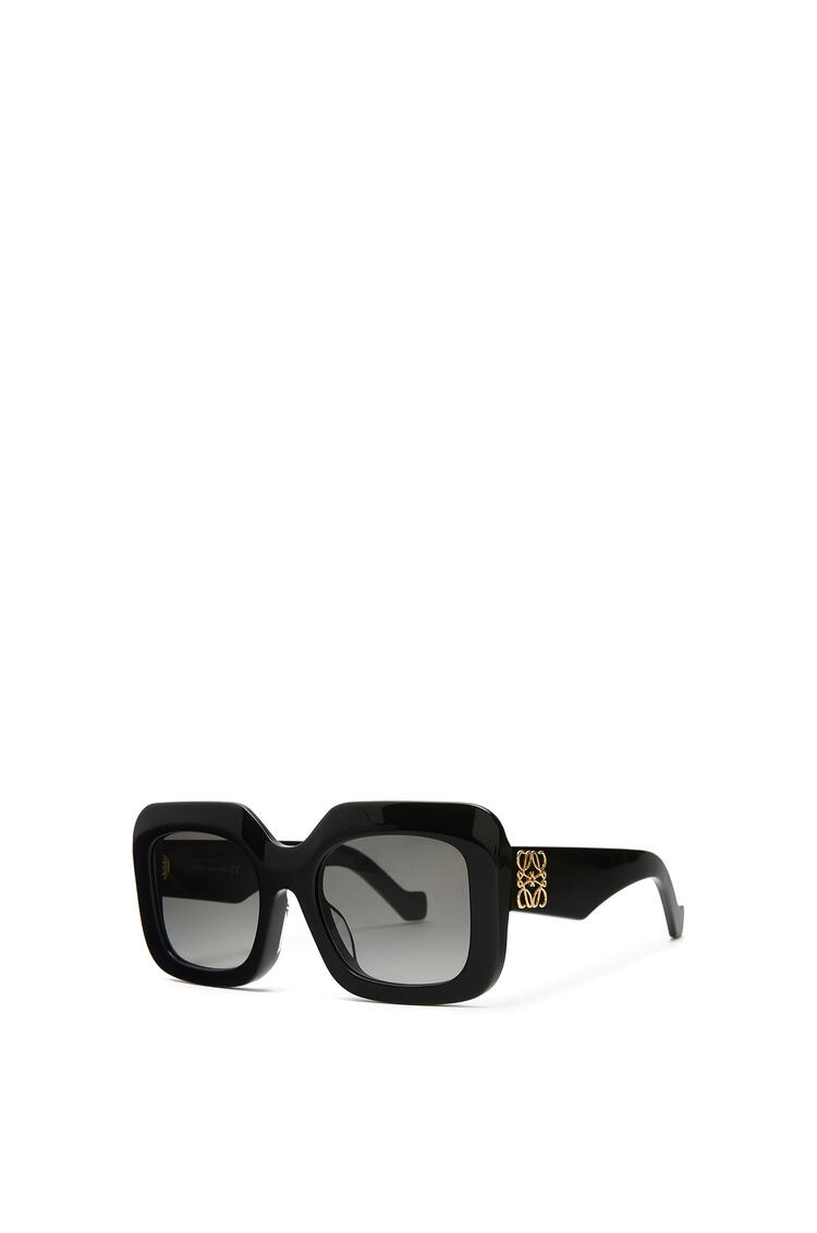 LOEWE ACETATE RECTANGULAR SUNGLASSES Black pdp_rd