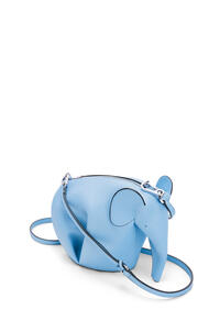 LOEWE Elephant mini bag in classic calfskin Light Blue pdp_rd