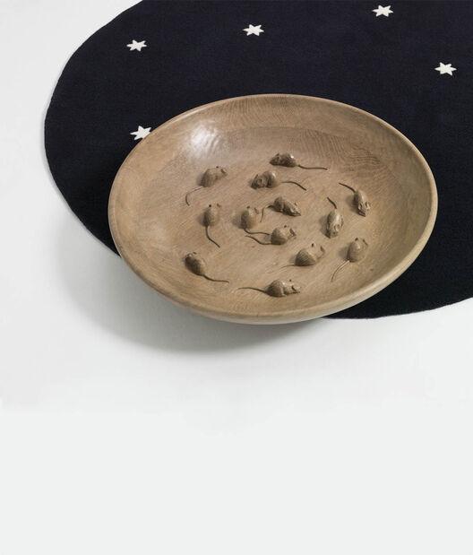 LOEWE Mice Bowl 暗红色 all