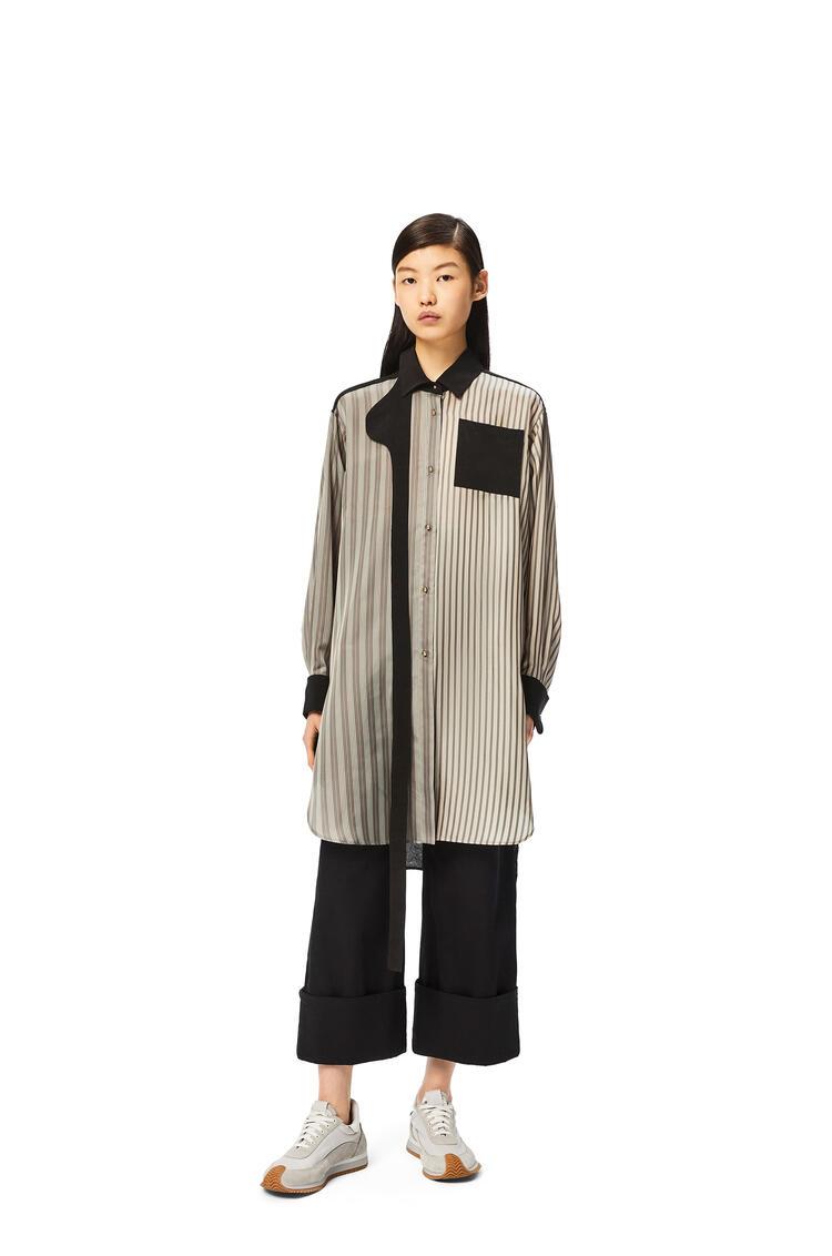 LOEWE 条纹拼布女式上衣 多色拼接 pdp_rd