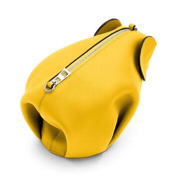 LOEWE Elephant Mini Bag Yellow front