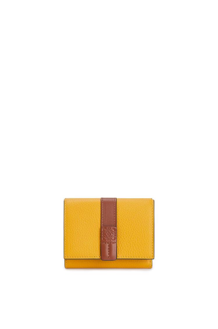 LOEWE トリフォルド ウォレット(ソフト グレイン カーフスキン) Narcisus Yellow/Pecan pdp_rd