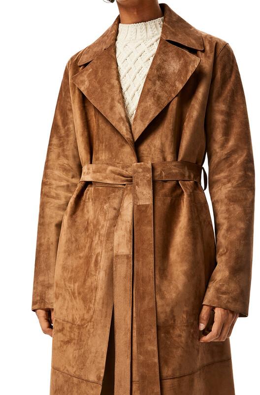 LOEWE Belted Coat ダスト front
