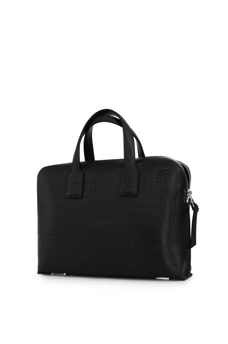 LOEWE Goya thin briefcase in calfskin 黑色 pdp_rd