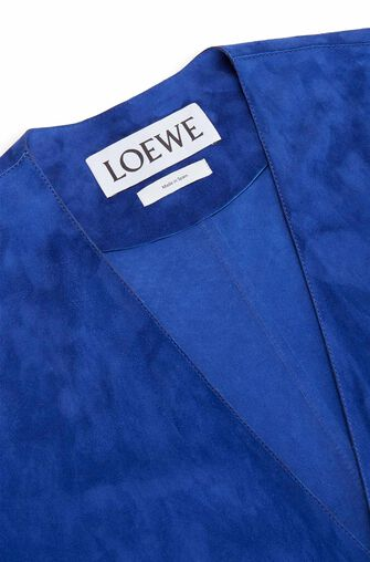 LOEWE コート Dark Royal Blue front