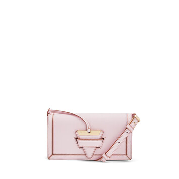 LOEWE バルセロナ ソフト ミニ バッグ Icy Pink front