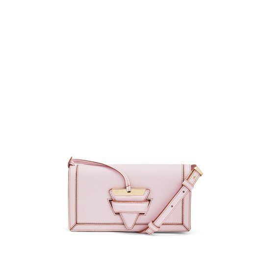 LOEWE Barcelona Soft Mini Bag Icy Pink front