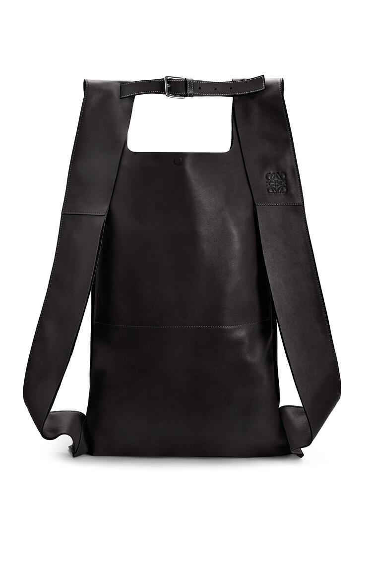 LOEWE Shopper backpack in nappa calfskin Black pdp_rd