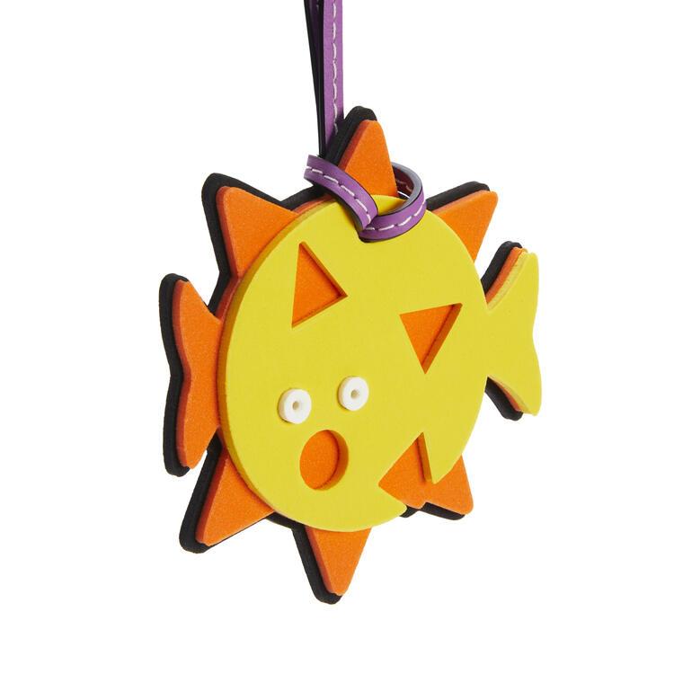 LOEWE Blowfish Charm Neon Orange/Neon Yellow pdp_rd