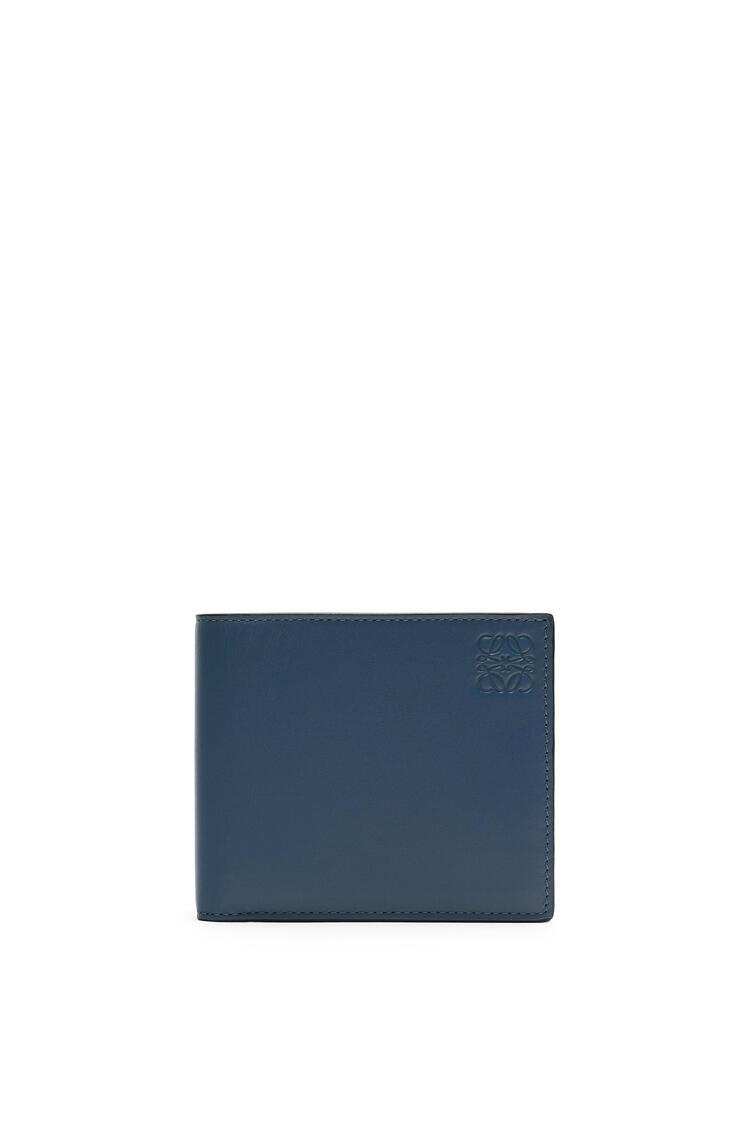 LOEWE Rainbow Bifold wallet in soft calfskin Blue/Multicolor pdp_rd