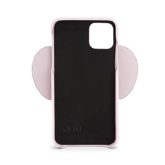 LOEWE Funda Elefante Para Iphone 11 Rosa Hielo front