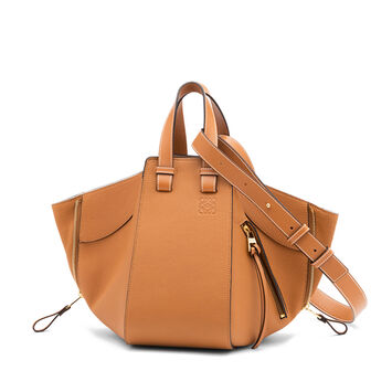 LOEWE Hammock Small Bag Light Caramel front