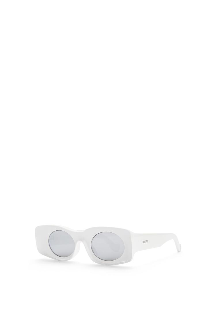 LOEWE Paula's Ibiza Original Sunglasses In Acetate White pdp_rd