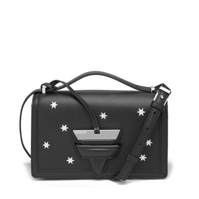 LOEWE Barcelona Stars Bag Black/Silver front