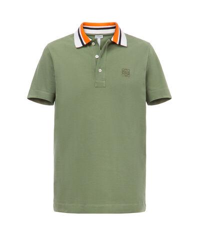 LOEWE Polo Verde Kaki front