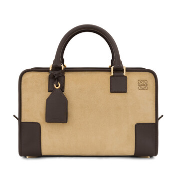LOEWE Amazona Bag Gold/Brown front