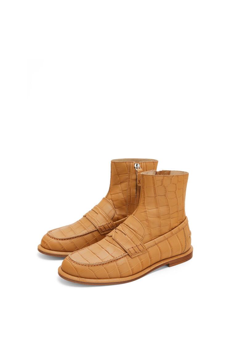 LOEWE Loafer boot in calfskin Desert pdp_rd