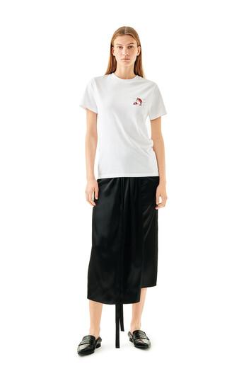 LOEWE Panel Skirt Negro front