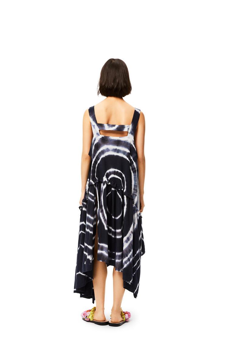 LOEWE タンク ドレス (タイダイ シルク&コットン) ブルー/ホワイト pdp_rd