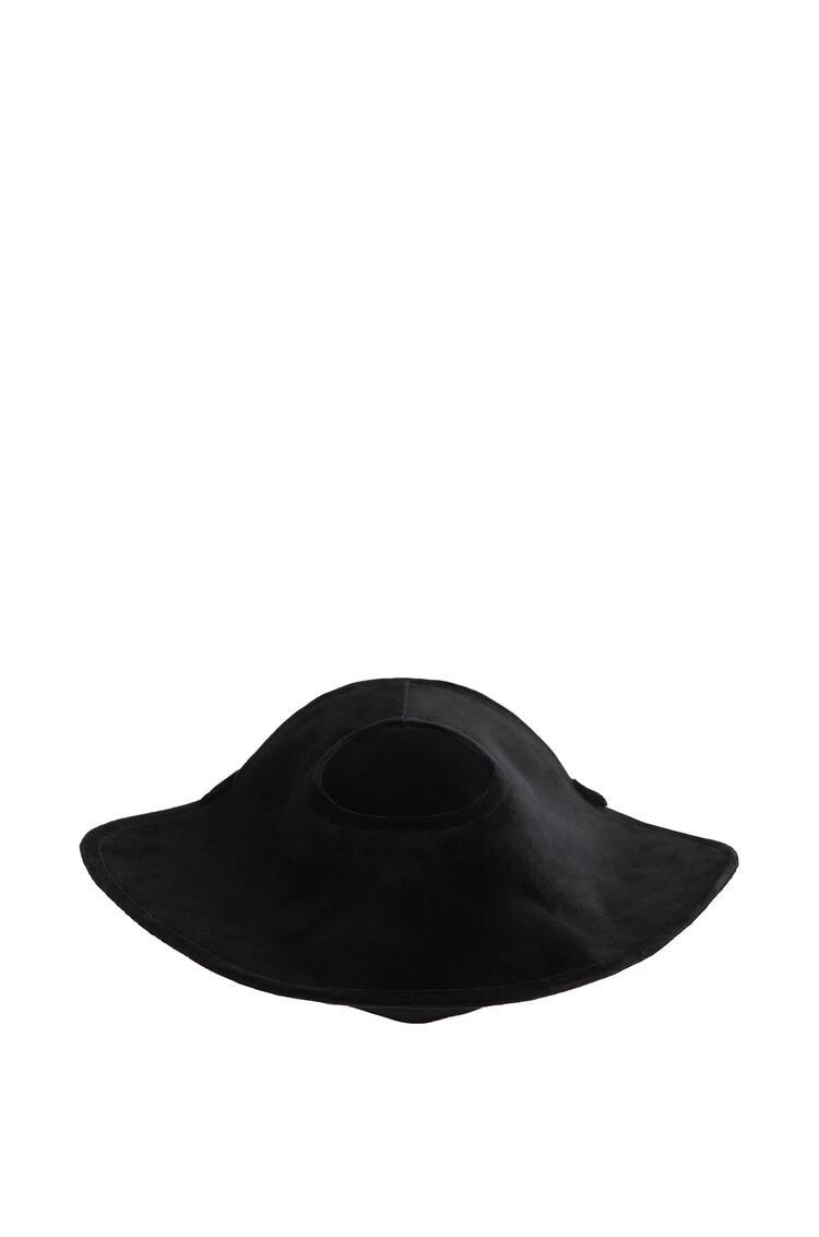 LOEWE Sombrero Halo en terciopelo Negro pdp_rd