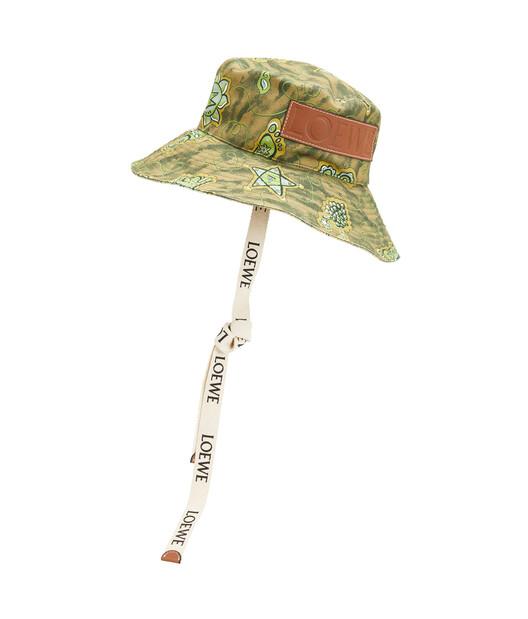 LOEWE Paula Fisherman Hat Green front