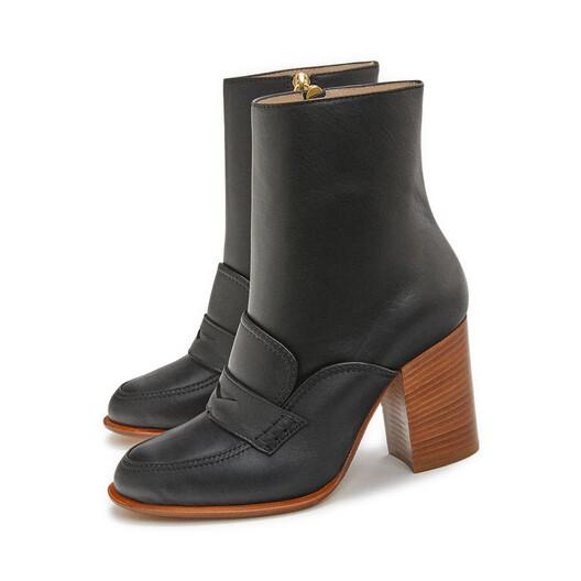 LOEWE 乐福靴 85 黑色 front