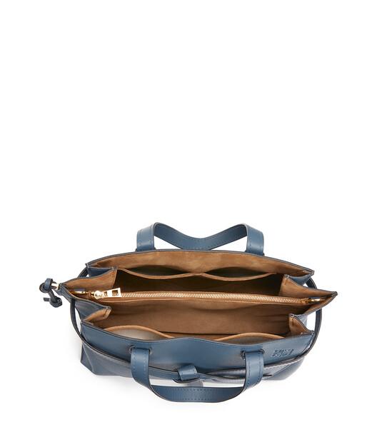 LOEWE Gate Top Handle Steel Blue front