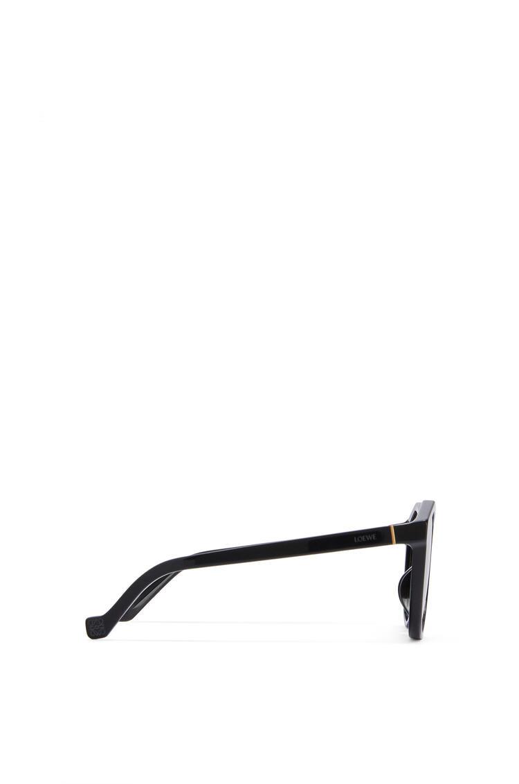 LOEWE Oversized Sunglasses in acetate 黑色 pdp_rd