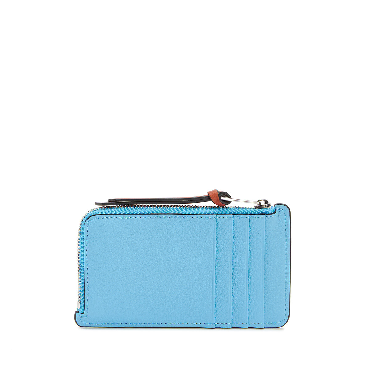 LOEWE Coin Cardholder Sky-Blue/Black front