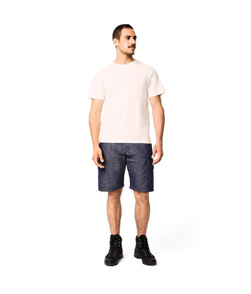 LOEWE Eln Shorts Navy Blue front