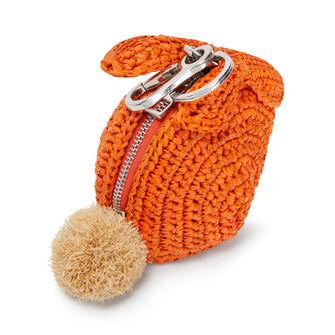 LOEWE Bunny Charm 橙色 front