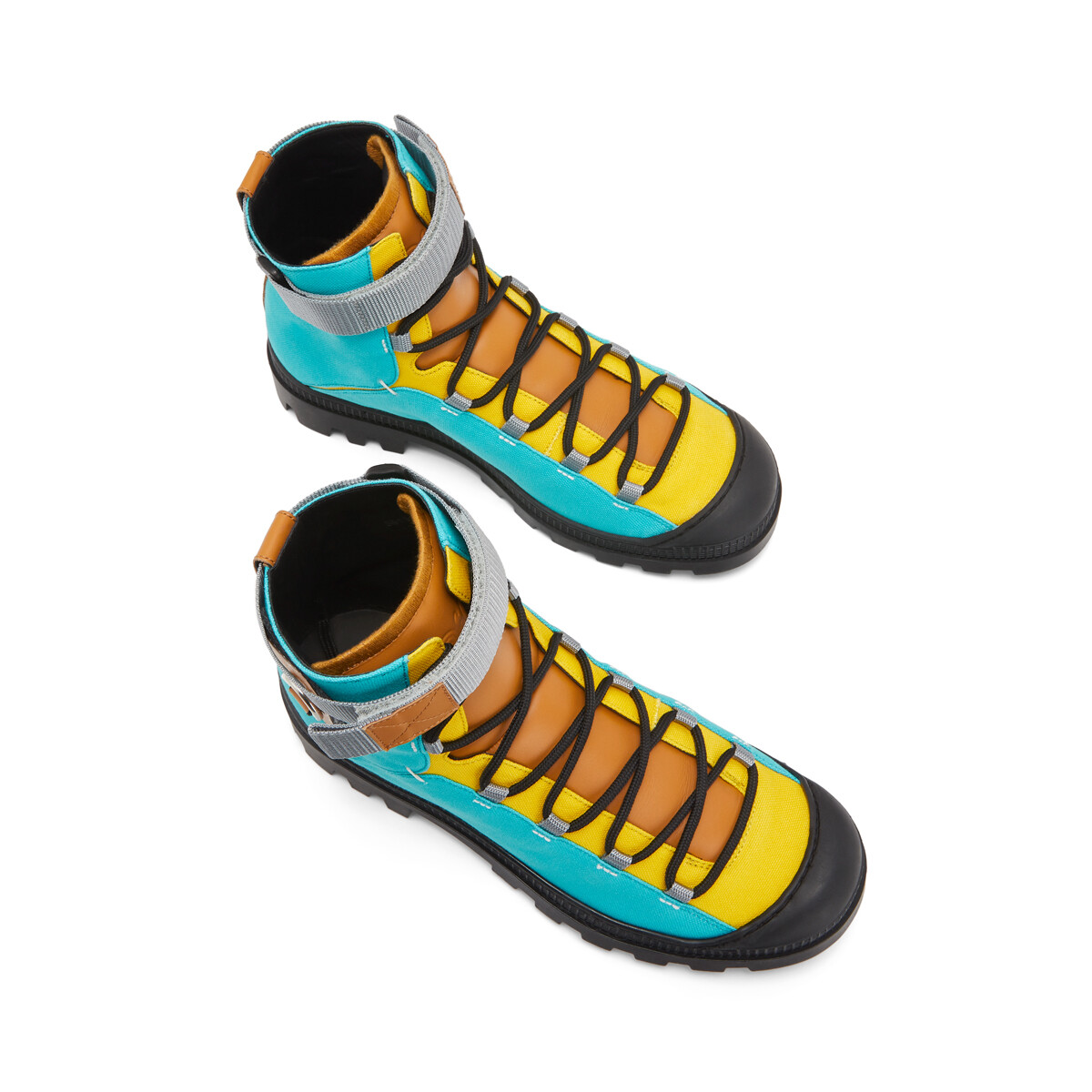 LOEWE ハイキング ブーツ Eye/LOEWE/Nature turquoise/tan front