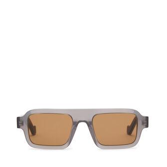 LOEWE Gafas Cuadradas Gris front