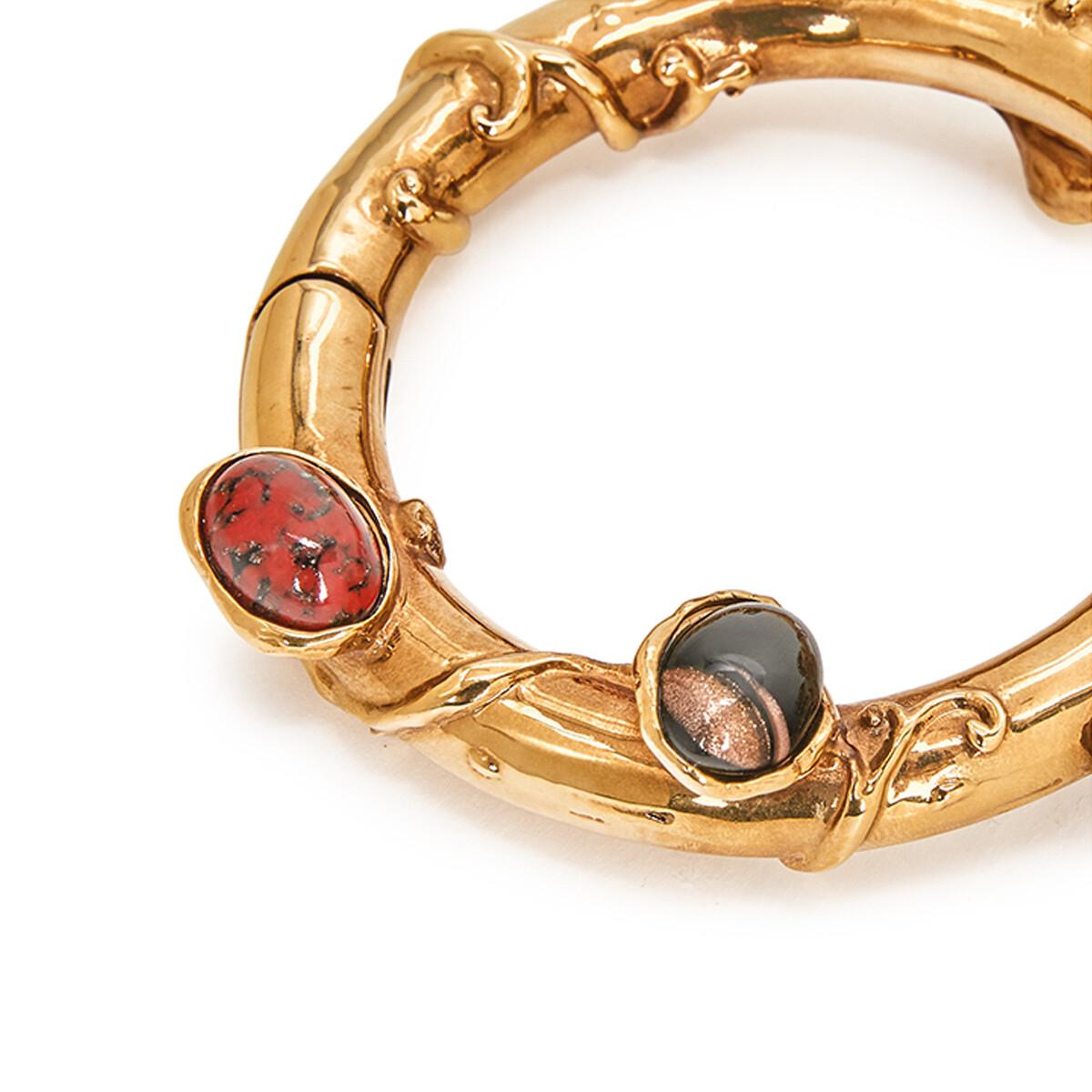 LOEWE Tree Bracelet Old Gold front