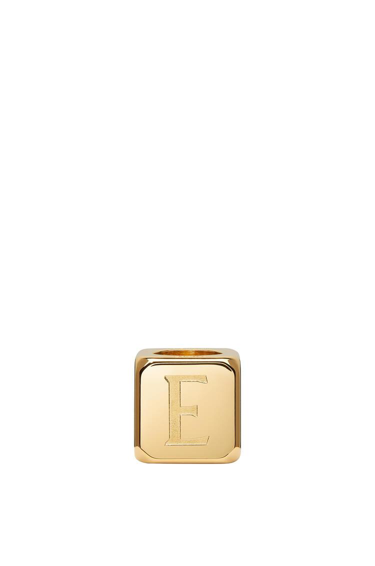 LOEWE Small die in metal Gold pdp_rd
